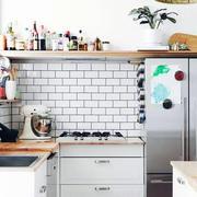 别墅白色简约系列厨房设计