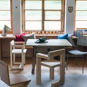 别墅小方型餐桌设计