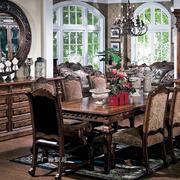 美式家具客厅装修整体图
