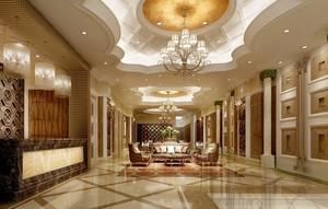 极其奢华的客厅瓷砖图案