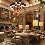 欧式客厅奢华沙发装饰