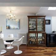 新中式简约型别墅客厅设计