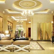 欧式奢华别墅客厅装饰