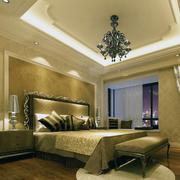 卧室石膏线装修灯光设计
