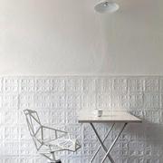 别墅简约单人餐桌设计