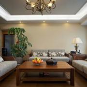 混搭美式原木地板设计
