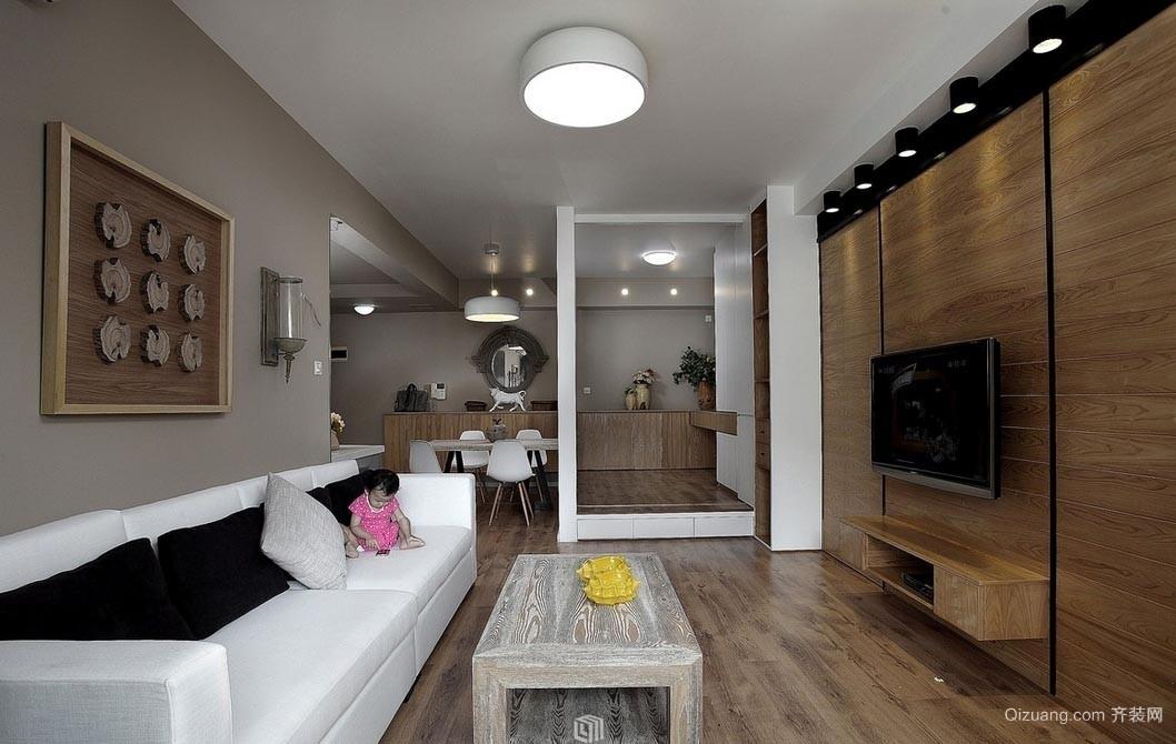深度视觉:精简的小户型家居装修效果图
