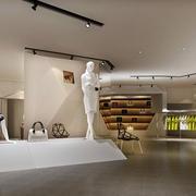 现代简约风格展厅吊顶效果图