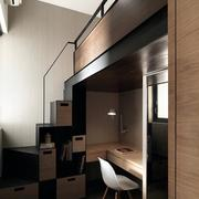 公寓精巧书桌柜设计