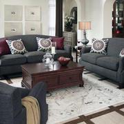 美式家具客厅装修沙发图