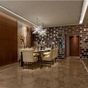 简约餐厅清晰瓷砖纹路