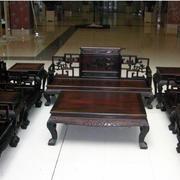 紫檀木实木家具装修色调搭配