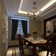浪漫的美式餐厅装饰