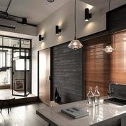 公寓厨房吧台展示