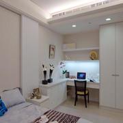 卧室书房一体化书房桌椅设计