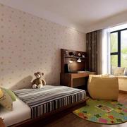东南亚风格儿童房效果图