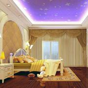 卧室石膏线装修吊顶图