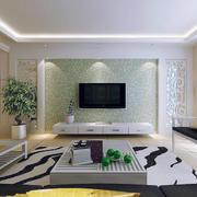 客厅电视背景墙造型图