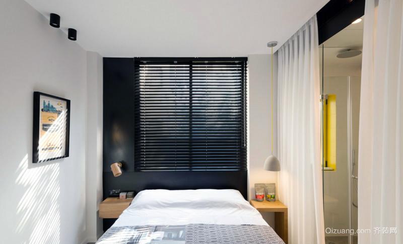 高贵严谨:138平米3居公寓式住宅装修图例