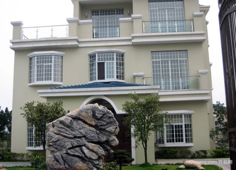 居民楼新型不锈钢防盗窗装修效果图