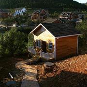 山脚下木屋装修设计