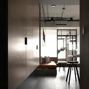 公寓客厅侧面实景