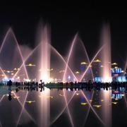 绚烂的喷泉设计