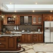 大户型人家美式厨房