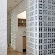 别墅简约隔断墙设计