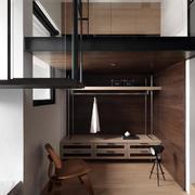 原木色的公寓装饰