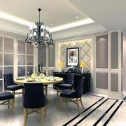 小户型家装餐厅装修桌椅图