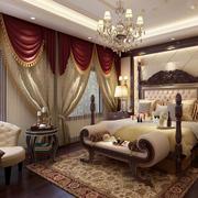 别墅欧式经典卧室装饰