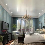 美式大卧室欣赏