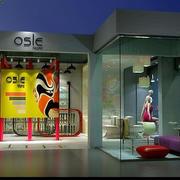 现代简约风格展厅柜台装饰