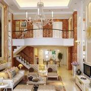 欧式客厅奢华灯饰装饰
