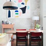 粉色系列客厅设计