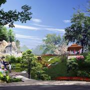 园林景观设计唯美图