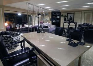 华丽的大户型美式家具客厅装修效果图