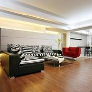 美式简约风格地板装饰