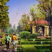 园林景观设计实景图