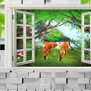 田园风格立体电视背景墙装修