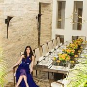 简欧唯美大户型客厅设计