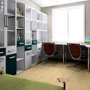 小书房木地板设计