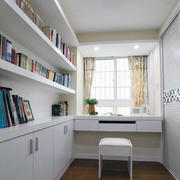 小书房装修整体图