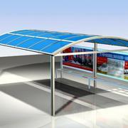 汽车站台雨棚设计