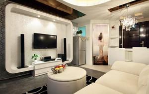 个性十足的单身公寓式住宅装修效果图
