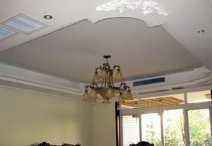 大户型古韵的客厅吊顶装修效果图