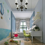 欧式儿童房精美灯饰装饰