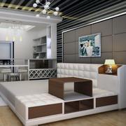 小户型家装美式家具装修整体图