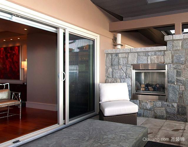 各式各样公寓专用磨砂玻璃门装修效果图